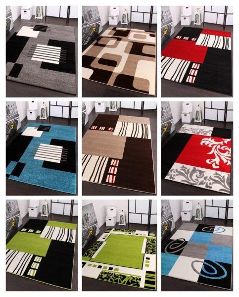 Designerteppich Gemustert in versch. Farben & Grössen Top Qualität zum Top Preis