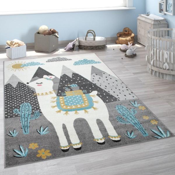 Tappeto per la camera dei bambini, con lama e monti